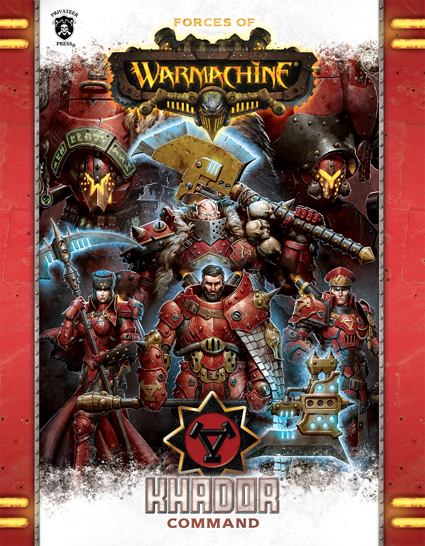 1083 Forces of Warmachine Khador Command (Hardback)