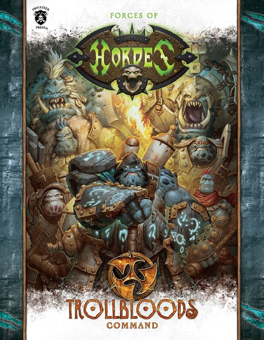 1090 Forces of Hordes Trollbloods Command Mk3 (Hardback)