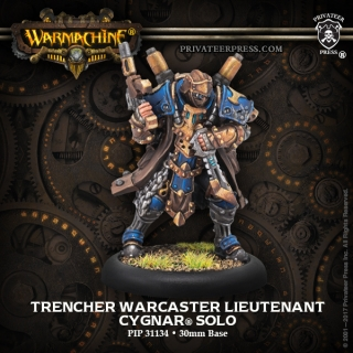 31134 Trencher Warcaster Lieutenant