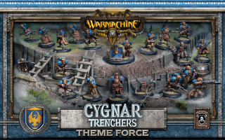 31901 Cygnar Trenchers Theme Force