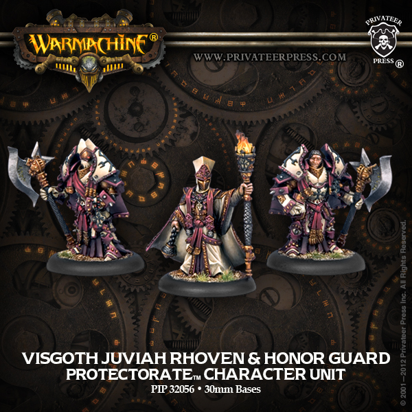 32056 Visgoth Juviah Rhoven and Honor Guard