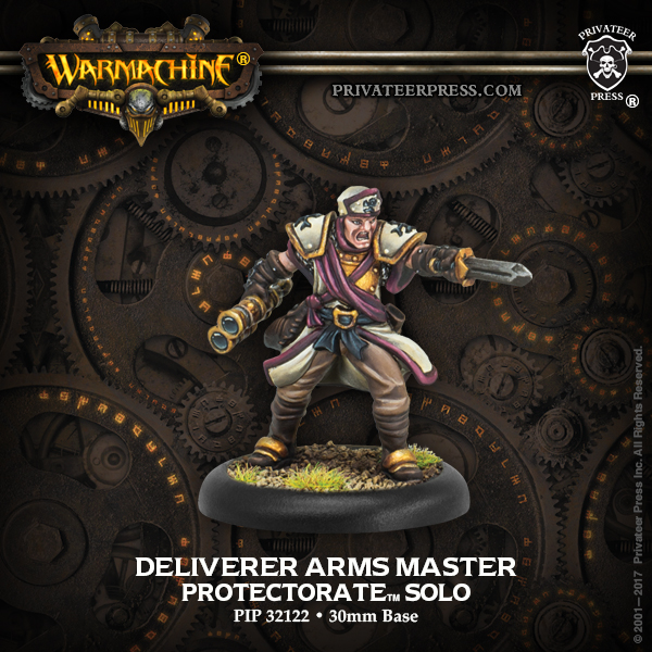 32122 Deliverer Arms Master