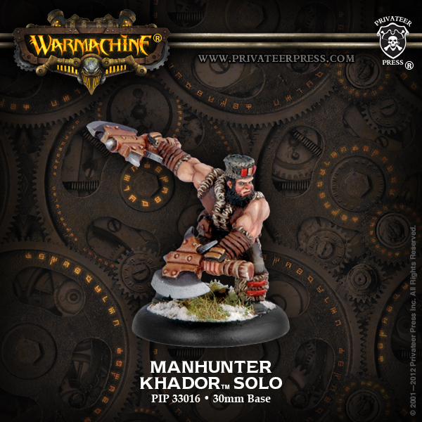 33016 Manhunter Khador Solo