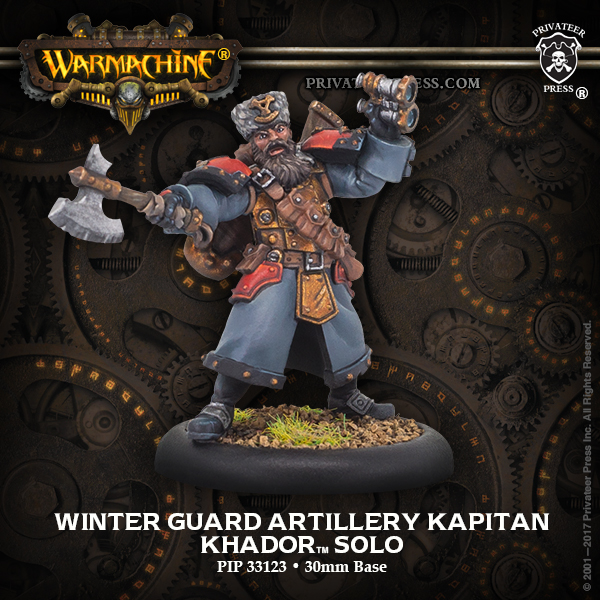 33123 Winter Guard Artillery Kapitan