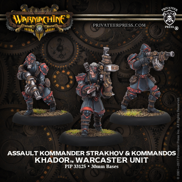33125 Assault Kommander Strakhov and Kommandos