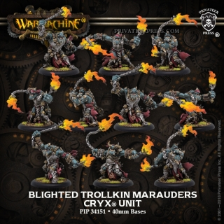 34151 Blighted Trollkin Marauders