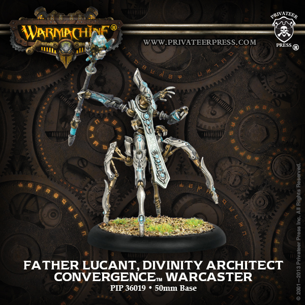 36019 Father Lucant, Divinity Architect Warcaster
