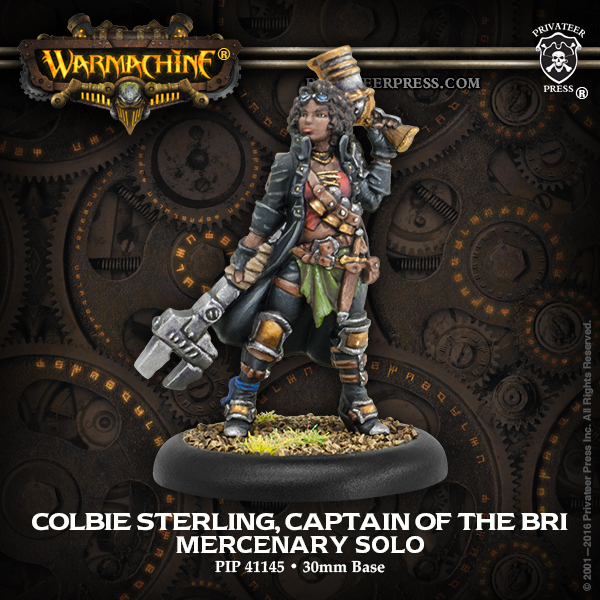41145 Colbie Sterling, Captain of the BRI (Variant)