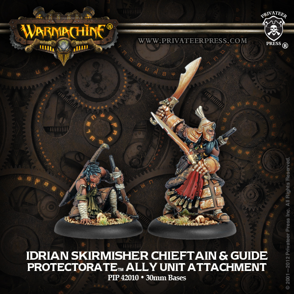 42010 Idrian Skirmisher Chieftain and Guide