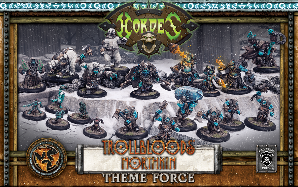 71119 Trollbloods Northkin Theme Force