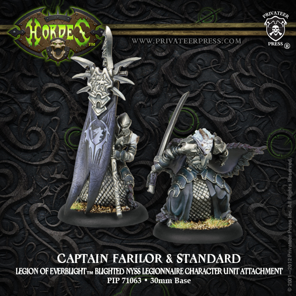 73063 Captain Farilor and Standard