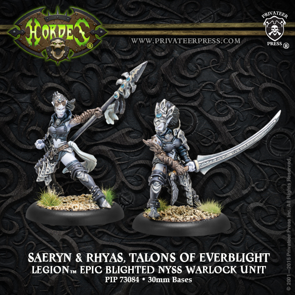 73084 Saeryn and Rhyas, Talons of Everblight