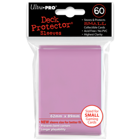 Ultra Pro Pink Sleeves Small