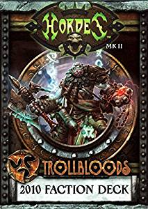 91062 Trollbloods 2010 Faction Deck