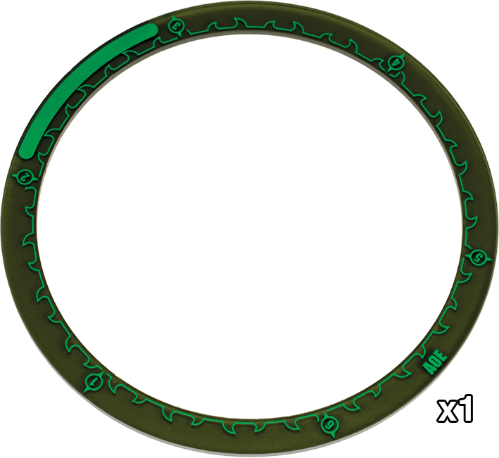 "91080 Warmachine 4"" Area of Effect Ring Markers"