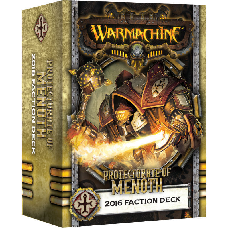 91104 Menoth 2016 Faction Deck Mk 3