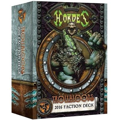 91110 Trollbloods 2016 Faction Deck Mk 3