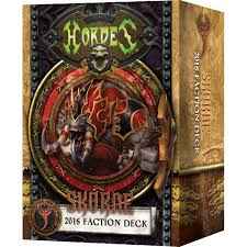 91113 Skorne 2016 Faction Deck Mk 3