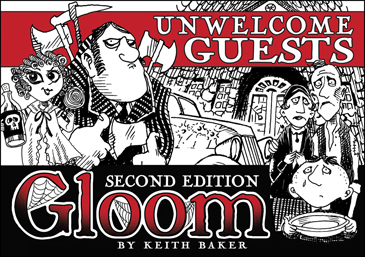 Gloom: Unwelcome Guests Expansion (2nd Ed.)