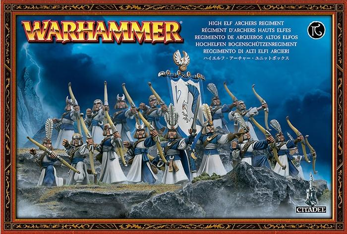 High Elves Archers Regiment