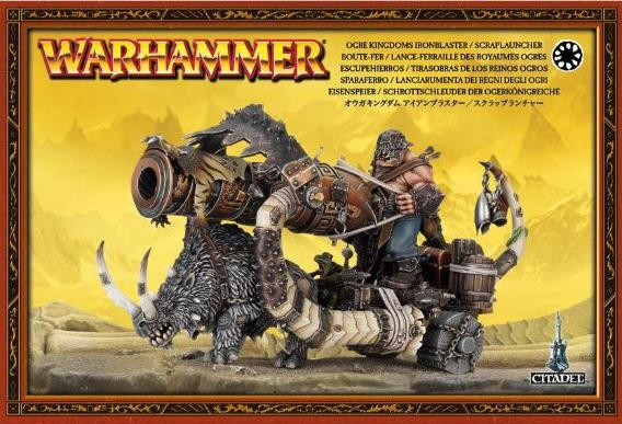 Ogre Kingdoms Ironblaster / Scraplauncher