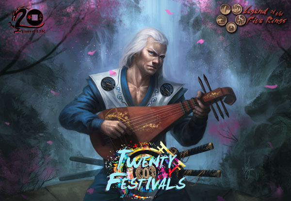 Legend of the five Rings: Twenty Festivals booster pack