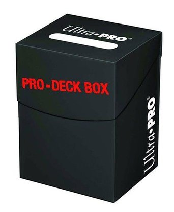 Ultra Pro 100+ Deck Box Black