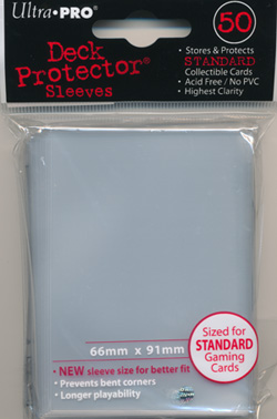 Ultra Pro Clear Sleeves Standard