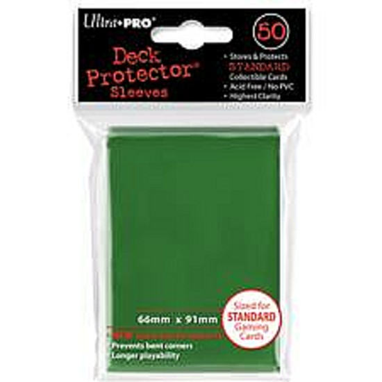 Ultra Pro Green Sleeves Standard