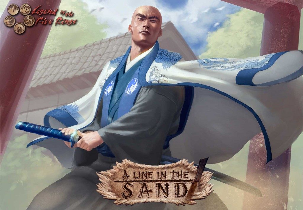 Legend of the five Rings: A Line in the Sand booster pack