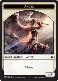 Angel // Cat Double-sided Token