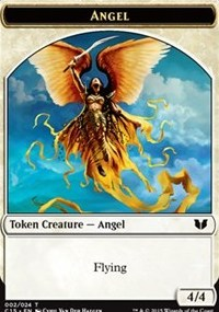 Angel // Knight (Vigilance) Double-Sided Token