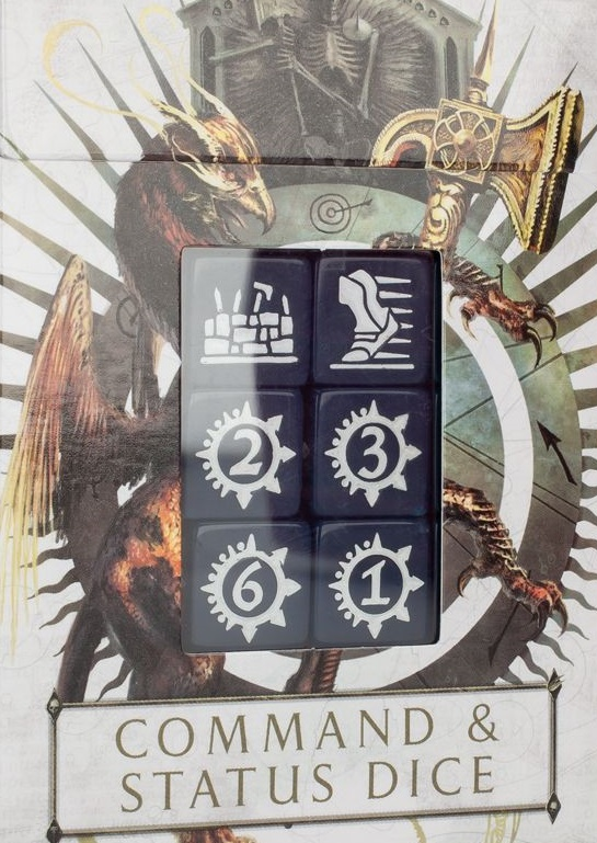 Age of Sigmar Command and Status Dice