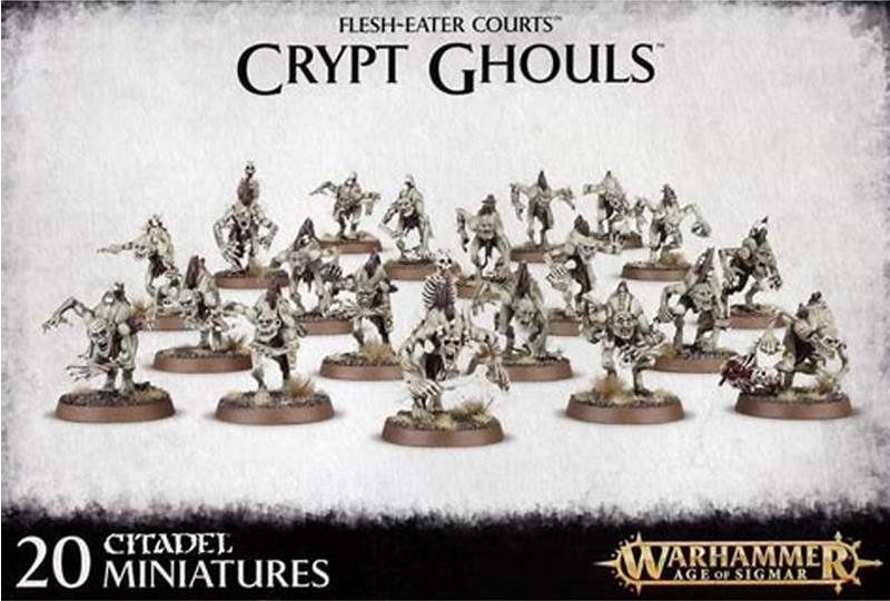 Vampire Counts Crypt Ghouls