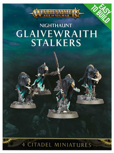 Nighthaunt Glaivewraith Stalkers - Easy to Build