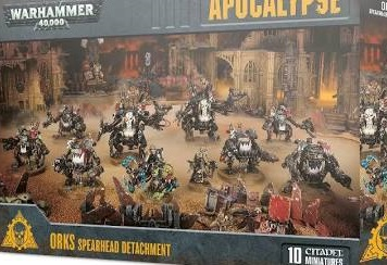 Apocalypse: Orks Spearhead Detachment