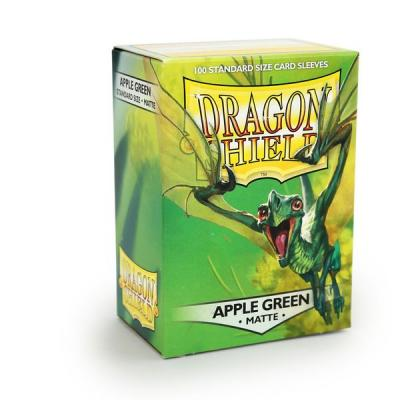 Dragon Shield Matte Apple Green Sleeves