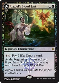Arguel's Blood Fast / Temple of Aclazotz - Alt Art Promo