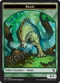 Beast (013) // Plant Double-sided Token