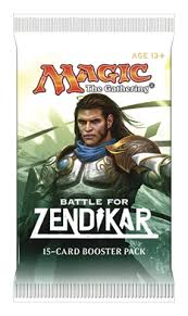 Magic the Gathering: Battle for Zendikar Booster pack