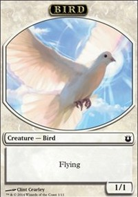 Bird Token (White)