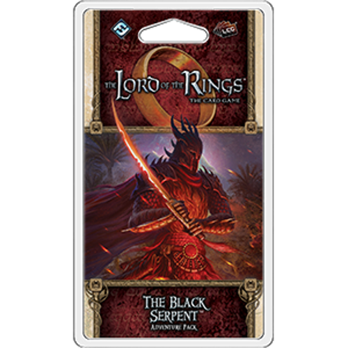 The Black Serpent Adventure Pack Lord of the Rings LCG