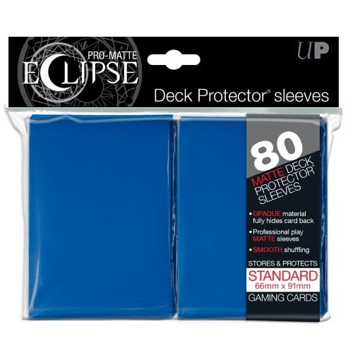 Pro Matte Eclipse Blue Standard Sleeves