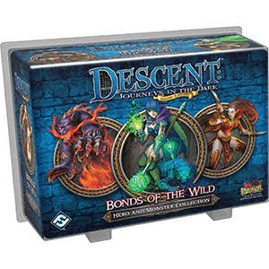 Descent: Bonds of the Wild Hero and Monster Collection