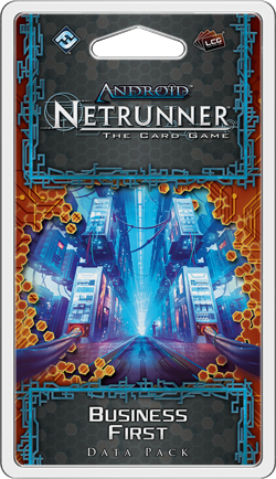 Android: Netrunner - Business First (Data Pack)
