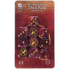 Guild Ball Butcher's Guild Dice Pack