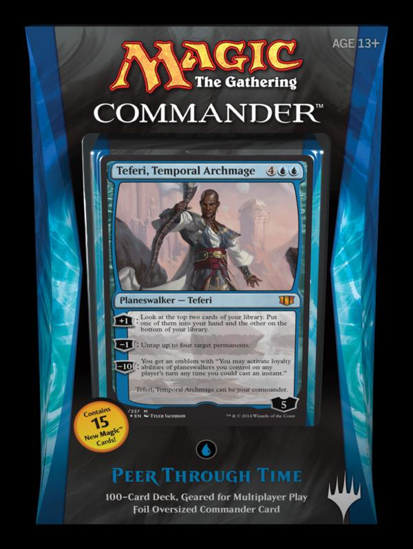 MTG: Commander 2014 Deck - Peer Through Time