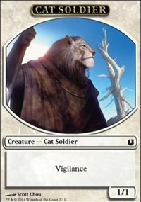 Cat Soldier Token
