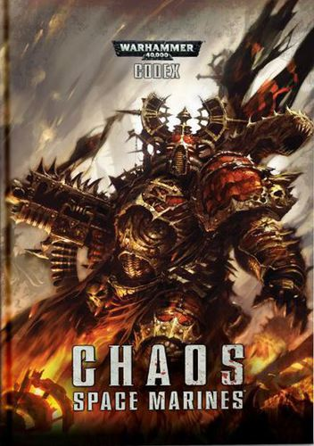 Chaos Space Marines Codex Softback