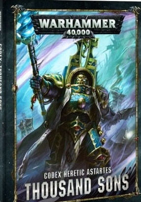 Codex Thousand Sons (8th Edition Hardback)